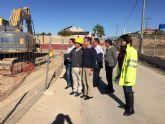 Obras para que los regantes de Ceutí puedan aprovechar el agua depurada de la EDAR de Las Torres de Cotillas