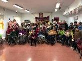 La Peña Barcelonista de Totana visita en Centro de Personas con Discapacidad Intelectual Jos� Moya Trilla