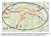 Cierre del acceso a las zonas de nidificación del águila real en Sierra Espuña