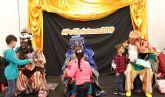 Casi un centenar de niños que participan en programas de la Asociaci�n Columbares reciben la visita de los reyes magos en PcComponentes