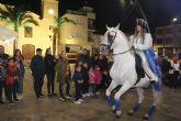 El emisario real anuncia la llegada de los Reyes Magos en San Pedro del Pinatar