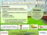 El Ayuntamiento y el Colectivo para la Promoci�n Social El Candil organizan un Curso de Auxiliar de Investigaci�n Agr�cola