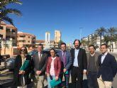 La consejería de Agricultura, la UPCT y los ayuntamientos de San Javier y Cartagena buscan nuevas soluciones en la gestión de los aportes de lluvia en la red de saneamiento de La Manga