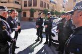 Desde hoy la Policía Local de Alcantarilla pasa a tener 58 chalecos antibalas y contar con las suficientes medidas preventivas de seguridad