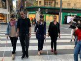 Discapacidad y Movilidad Sostenible colaboran para implantar el dispositivo passblue en zonas prioritarias de Murcia