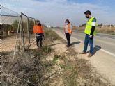 El Pleno Municipal solicita la adecuación de la carretera RM-F21 en el tramo Torre Pacheco-Roldán