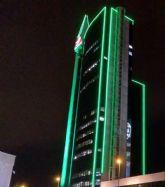 Las Torres Urban Center de Grupo Fuertes permanecer�n hoy iluminadas de color verde con motivo del D�a Mundial contra el C�ncer