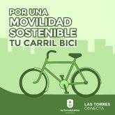 Un carril bici permitirá una movilidad más sostenible en Las Torres de Cotillas
