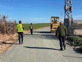 El ayuntamiento está procediendo al arreglo de caminos rurales