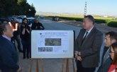 La Consejería de Fomento inicia el acondicionamiento de la carretera que enlaza Torre Pacheco con Pozo Estrecho