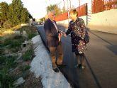 La pedánea de Javalí Nuevo critica la 'poca voluntad' del alcalde de Alcantarilla para arreglar problemas que afectan a ambos términos