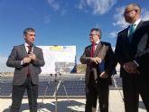 La Comunidad de Regantes de Pliego inaugura una parte del mayor parque solar fotovoltaico de España a sociado al regadío