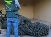 La Guardia Civil investiga a tres personas dedicadas a cometer hurtos en fincas de Torre Pacheco