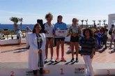 El Club Atletismo Mazarr�n se sube al p�dium en San Juan de los Terreros