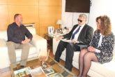 El alcalde se re�ne con el delegado territorial de la ONCE