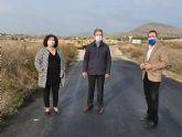 La Comunidad mejora la seguridad vial de la carretera que une Abanilla con los Banos de Fortuna