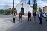 Concluye la renovación de aceras y asfaltado en el barrio de San Pedro