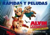 Se retoma este próximo fin de semana el programa de cine con la película Alvin y las ardillas. Fiesta sobre ruedas