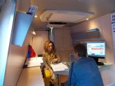 Emprendedores y Empresarios de San Pedro visitan la Oficina móvil del INFO