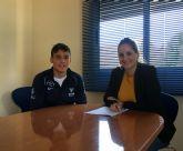 El deportista del Club de Piragüismo Mar Menor,  Pablo Francisco Sánchez, de 16 años, participará en el Mundial Preolímpico