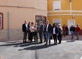 Beniel recibe casi 108.000 euros para renovación de calzadas y aceras del Plan de Obras y Servicios de la Comunidad