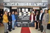 Adela Martínez-Cachá visita el colegio Maspalomas de San Pedro del Pinatar con motivo de su ´Semana Cultural´