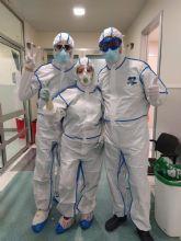 AEMEDSA colabora en la lucha contra el Covid-19 donando 100 trajes qu�micos al hospital Santa Luc�a de Cartagena