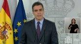S�nchez anuncia que solicitar� al Congreso de los Diputados la pr�rroga del estado de alarma