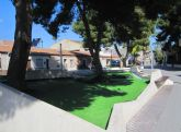 Los parterres de la plaza Tirso de Molina lucen renovados