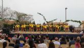 Cientos de bailarines celebran el Día Internacional de la Danza en Puerto Lumbreras