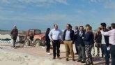 La oferta de ocio de Mazarrón crece con los nuevos campos de deportes de playa subvencionados por la Comunidad