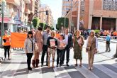 La XIV Marcha Solidaria 'Por el Alzheimer', que organiza AFADE Alcantarilla logra una edición más a cientos de participantes en la misma