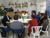 El diputado nacional de Ciudadanos, Miguel Garaulet, visitó hoy Totana para interesarse por diversos temas que afectan al municipio