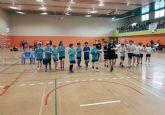 Los colegios La Cruz, Santiago y Tierno Galv�n participaron en los cuartos de final regionales de Deportes de Equipo