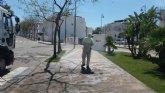 La urbanizaci�n Condado de Alhama, desinfectada con el apoyo del Ayuntamiento