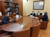 El Presidente de la CHS ha mantenido una reunión de trabajo con la Alcaldesa de Alguazas