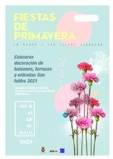 I Concurso de San Isidro para la decoración de balcones, ventanas y entradas - Inscripciones hasta el 6 de mayo