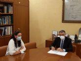 El Presidente de la CHS ha mantenido una reunión de trabajo con la Alcaldesa de Fuente Álamo
