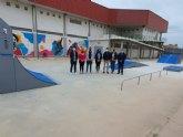 Inauguradas las instalaciones del nuevo skatepark de Alguazas