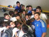 70 niños lumbrerenses viajan a Madrid para disfrutar de una convivencia en las instalaciones de la Fundación Real Madrid