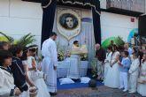 Siete altares reciben a los niños de comunión con motivo del Corpus Christi