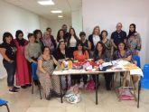 12 personas con dificultades de inserción laboral participan en un taller de costura y atención al cliente organizado por el Ayuntamiento de Molina de Segura y la Asociación Proyecto Abraham