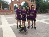 Miembros del Club Atletismo Totana colaboran en la ruta solidaria: Un amanecer para Roc�o Salas