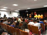El alcalde asiste al acto de entrega de premios que Cruz Roja otorga a alumnos del IES Juan de la Cierva
