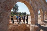 Visita a las obras de adecuación del entorno del Museo de la Huerta y acueducto de la Rueda de Alcantarilla