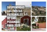 Suspendidas las fiestas de las pedan�as por seguridad ante la Covid-19