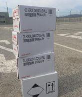 La capellanía de la cárcel de Campos del Río gestiona la donación de 18 litros de gel hidroalcohólico para el centro