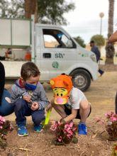 Escolares de Dolores de Pacheco celebran el Día Mundial del Medio Ambiente con una plantación
