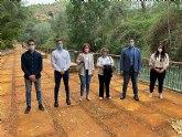 Inaugurada la restauración del Malecón Fluvial del Santuario de Ntra. Sra. de la Esperanza
