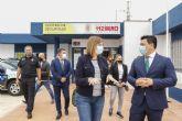 Isabel Franco visita San Javier para conocer a los nuevos responsables de Protección Civil